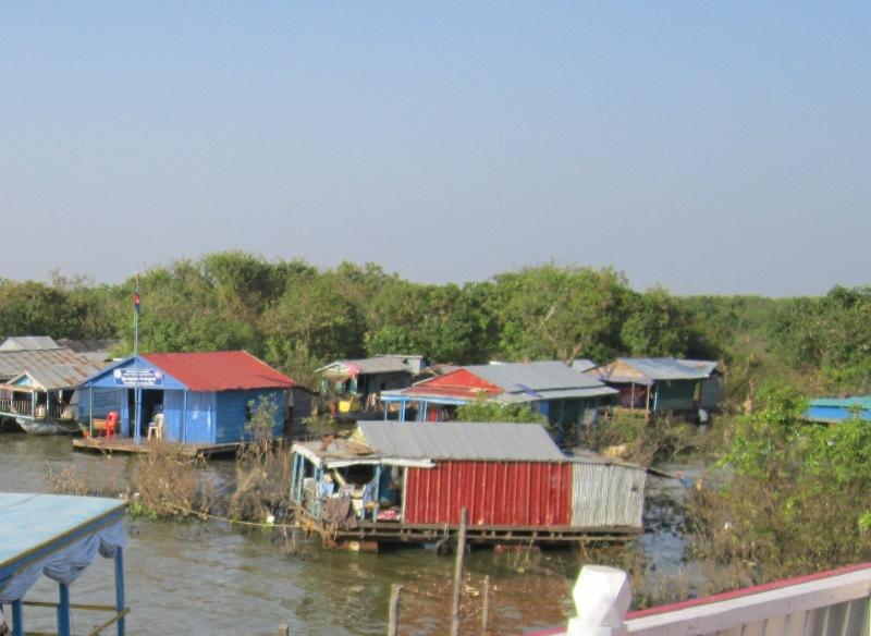 Камбоджа озеро Тонлесап